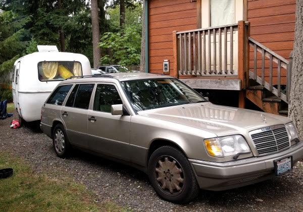 E320 Wagon With Camper
